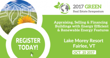 2017 Green Real Estate Symposium poster