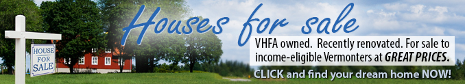 Browse the houses VHFA has for sale